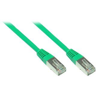8.00m Good Connections Cat. 5e Patchkabel FTP RJ45 Stecker auf RJ45 Stecker Grün