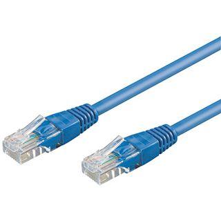 2.00m Good Connections Cat. 5e Patchkabel UTP RJ45 Stecker auf RJ45 Stecker Blau