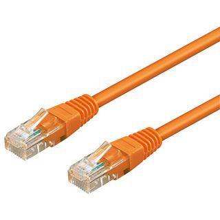 5.00m Good Connections Cat. 5 Patchkabel UTP RJ45 Stecker auf RJ45 Stecker Orange