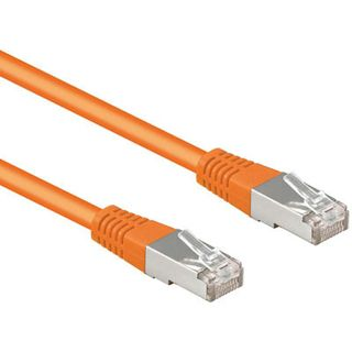 10.00m Good Connections Cat. 5e Patchkabel UTP RJ45 Stecker auf RJ45 Stecker Orange