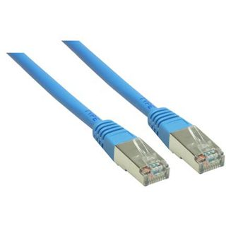 (€1,63*/1m) 3.00m Good Connections Cat. 6 Patchkabel S/FTP PiMF RJ45 Stecker auf RJ45 Stecker Blau