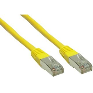 (€0,92*/1m) 7.50m Good Connections Cat. 6 Patchkabel S/FTP PiMF RJ45 Stecker auf RJ45 Stecker Gelb
