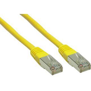 (€0,69*/1m) 10.00m Good Connections Cat. 6 Patchkabel S/FTP PiMF RJ45 Stecker auf RJ45 Stecker Gelb