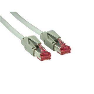 2.50m Good Connections Cat. 6 Patchkabel S/FTP PiMF RJ45 Stecker auf RJ45 Stecker Grau