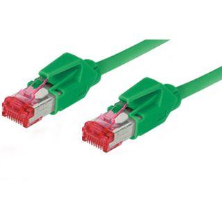 2.00m Good Connections Cat. 6 Patchkabel S/FTP PiMF RJ45 Stecker auf RJ45 Stecker Grün halogenfrei