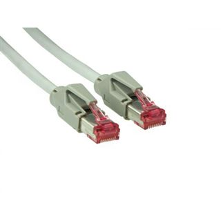 30.00m Good Connections Cat. 6 Patchkabel S/FTP PiMF RJ45 Stecker auf RJ45 Stecker Grau