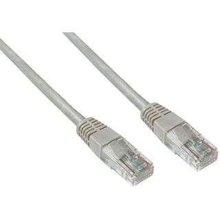 5.00m Good Connections Cat. 6 Patchkabel UTP RJ45 Stecker auf RJ45 Stecker Grau