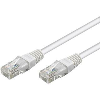 10.00m Good Connections Cat. 6 Patchkabel UTP RJ45 Stecker auf RJ45 Stecker Weiß