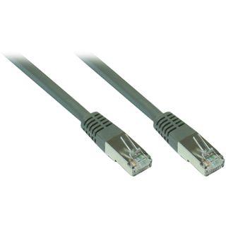 40.00m Good Connections Cat. 7 Rohkabel Patchkabel S/FTP PiMF 600MHz RJ45 Stecker auf RJ45 Stecker Grau