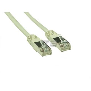 (€0,46*/1m) 15.00m Good Connections Cat. 5e Patchkabel S/FTP RJ45 Stecker auf RJ45 Stecker Grau