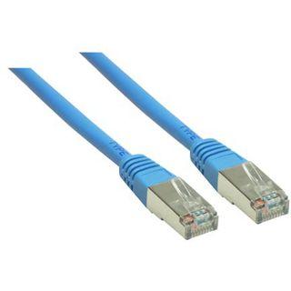 (€0,53*/1m) 15.00m Good Connections Cat. 5e Patchkabel S/FTP RJ45 Stecker auf RJ45 Stecker Blau