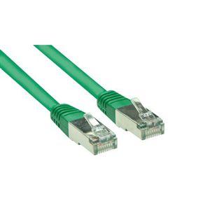 (€0,40*/1m) 20.00m Good Connections Cat. 5e Patchkabel S/FTP RJ45 Stecker auf RJ45 Stecker Grün