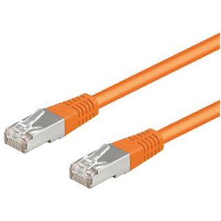 (€0,32*/1m) 50.00m Good Connections Cat. 5e Patchkabel S/FTP RJ45 Stecker auf RJ45 Stecker Orange