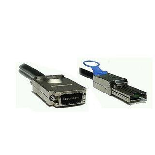10.00m Good Connections SAS 3Gb/s Anschlusskabel SFF-8088 Stecker auf SFF-8470 Stecker Schwarz