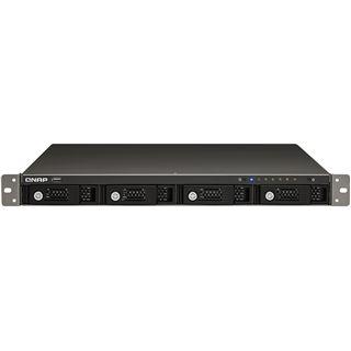 "QNAP Turbostation TS-459U-SP+ NAS System für 4x2,5"" oder 4x3,5"" SATA II HDD Schwarz"