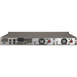 "QNAP Turbostation TS-459U-RP+ NAS System für 4x2,5"" oder 4x3,5"" SATA II HDD Schwarz"