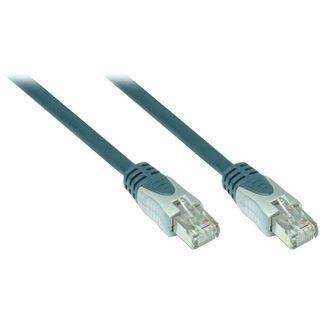 5.00m Good Connections Cat. 6 Patchkabel S/SFTP PiMF RJ45 Stecker auf RJ45 Stecker Blau