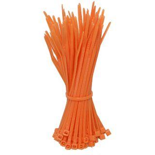 Good Connections Kabelbinder 2,5mm x100mm orange 100 Stück