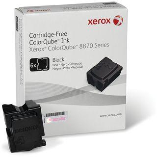 Xerox Tinte 6 Sticks 108R00957 schwarz