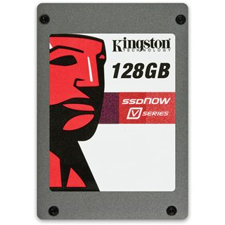 "128GB Kingston V Series 2.5"" (6.4cm) SATA 3Gb/s MLC asynchron (SV100S2/128G)"