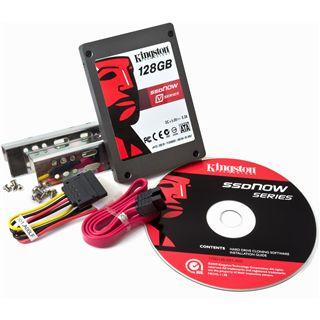 "128GB Kingston V Series 2.5"" (6.4cm) SATA 3Gb/s MLC asynchron (SV100S2D/128G)"