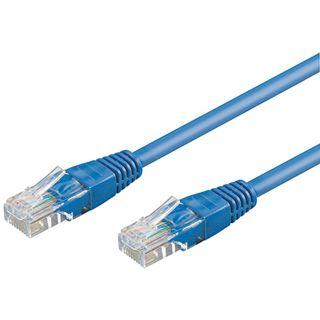 3.00m Good Connections Cat. 6 Patchkabel UTP RJ45 Stecker auf RJ45 Stecker Blau