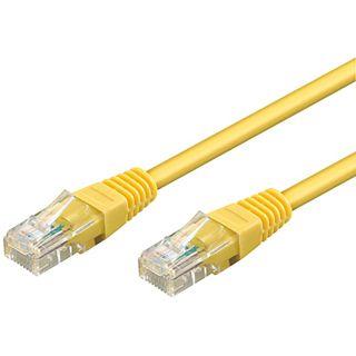 20.00m Good Connections Cat. 6 Patchkabel UTP RJ45 Stecker auf RJ45 Stecker Gelb