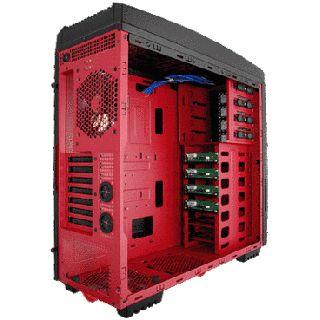 Super Flower SF-2000R Big Tower ohne Netzteil schwarz/rot