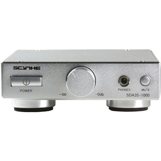 "Scythe Kama Bay AMP mini silber Verstärker für 3,5"" (SDA35-1000-SL)"