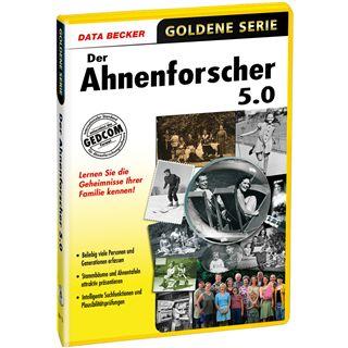 Data Becker Der Ahnenforscher 5.0 32 Bit Deutsch Tool Vollversion PC (CD)