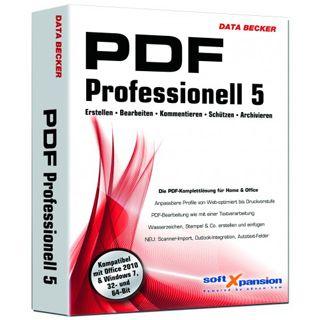 Data Becker PDF Professionell 5 32/64 Bit Deutsch Office FPP PC (DVD)