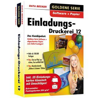 Data Becker EINLADUNGS-DRUCKEREI 12
