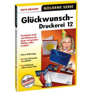 Data Becker GLUECKWUNSCH-DRUCKEREI 12
