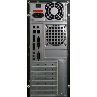 Inter-Tech JY-236 Polecat Midi Tower 500 Watt schwarz