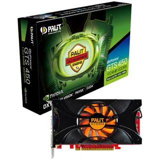 1GB Palit GeForce GTS 450 Rev. 2 Aktiv PCIe 2.0 x16 (Retail)