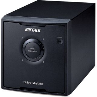 """4000GB Buffalo DriveStation Quad HD-QL4TSU2R5-EU 3.5"""" (8.9cm) eSATA/USB 2.0 schwarz"""