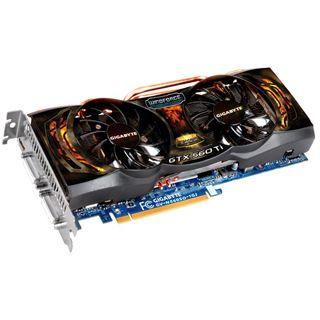 1024MB Gigabyte GTX 560 Ti Super Overclock GDDR5 PCIe bulk