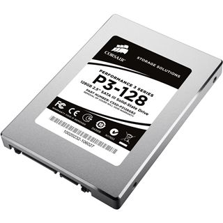 "128GB Corsair Performance 3 Series 2.5"" (6.4cm) SATA 6Gb/s MLC asynchron (CSSD-P3128GB2-BRKT)"