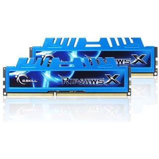 4GB G.Skill RipJawsX DDR3-1600 DIMM CL7 Dual Kit
