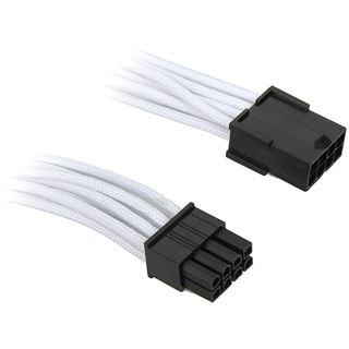 BitFenix 8-Pin PCIe Verlängerung 45cm - sleeved white/black