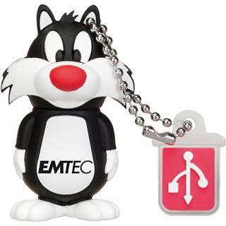 4 GB EMTEC Sylvester Looney Tunes schwarz/weiss USB 2.0