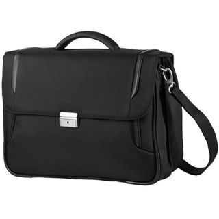"Samsonite X?Blade Briefcase 2 Gusset16"" Lighter, schwarz"