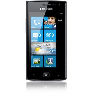 Samsung Omnia W i8350 8 GB schwarz