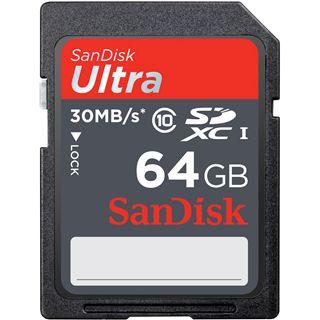 64 GB SanDisk Ultra 30MB/s SDXC Class 10 Retail