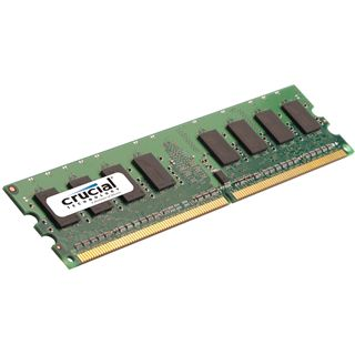 2GB Crucial CT25664AA667 DDR2-667 DIMM CL5 Single