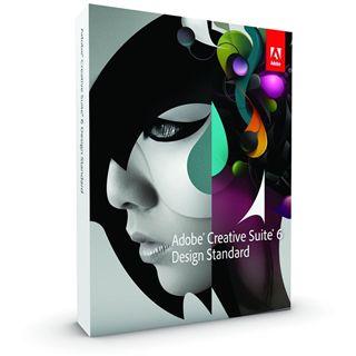 Adobe Creative Suite 6.0 Design Standard 64 Bit Englisch Grafik Update PC (DVD)