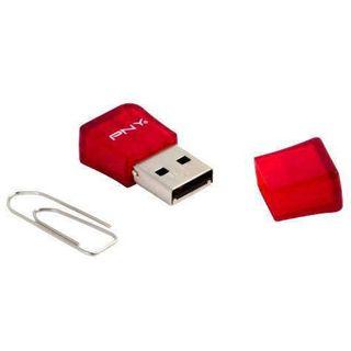 32 GB PNY Micro Sleek Attache rot USB 2.0