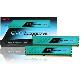 8GB GeIL EVO Leggera DDR3-1600 DIMM CL9 Dual Kit