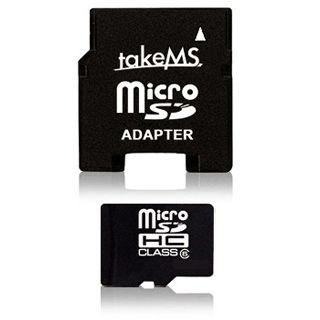8 GB takeMS microSDHC Class 4 Retail inkl. Adapter