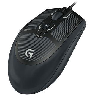 Logitech G100s Optical Gaming Mouse USB schwarz (kabelgebunden)